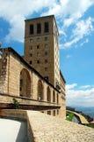 abbey montserrat Arkivfoton