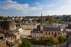 Abbey Neumunster Luxembourg Royaltyfri Foto