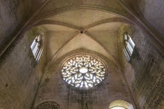 Abbey Notre Dame de Lieu Restaure, l'Oise, France Images libres de droits