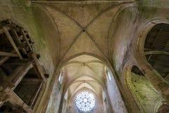 Abbey Notre Dame de Lieu Restaure, l'Oise, France Image stock