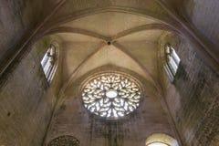 Abbey Notre Dame de Lieu Restaure, Oise, France Royalty Free Stock Images