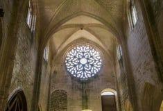 Abbey Notre Dame de Lieu Restaure, Oise, Francia Fotografía de archivo libre de regalías