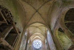 Abbey Notre Dame de Lieu Restaure, Oise, Francia Foto de archivo