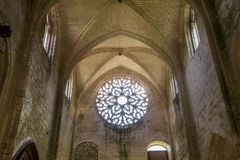 Abbey Notre Dame de Lieu Restaure, Oise, Francia Imágenes de archivo libres de regalías