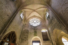 Abbey Notre Dame de Lieu Restaure, Oise, Francia Fotografía de archivo