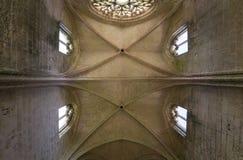 Abbey Notre Dame de Lieu Restaure, Oise, Francia Imagenes de archivo