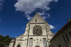 Abbey Notre Dame de Lieu Restaure, Oise, Frankreich Lizenzfreie Stockfotografie