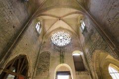 Abbey Notre Dame de Lieu Restaure, Oise, Frankreich Stockfotografie