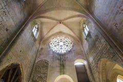 Abbey Notre Dame de Lieu Restaure, Oise, Frankreich Stockbild