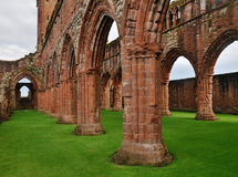 abbey nya scotland royaltyfria bilder
