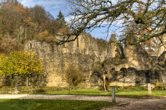 The abbey of Orval in Belgium Royalty Free Stock Images