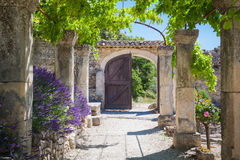 Abbey Provence France Royaltyfria Bilder