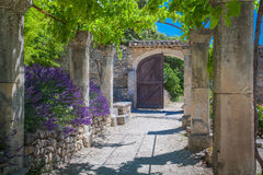 Abbey Provence France Royaltyfri Fotografi