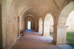 Abbey Provence France Lizenzfreies Stockfoto