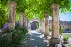 Abbey Provence France Fotografering för Bildbyråer