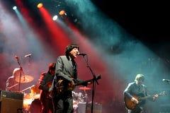 Abbey Road (Bandtribut zum Beatles) führt an der goldenen Wiederbelebung durch Lizenzfreies Stockbild