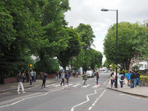 Abbey Road crossing in London Stock Images