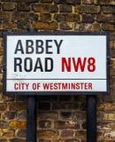 Abbey Road firma adentro Londres (el hdr) Fotos de archivo libres de regalías