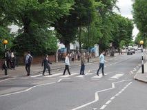 Abbey Road korsning i London Royaltyfria Foton