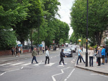 Abbey Road korsning i London Royaltyfria Foton