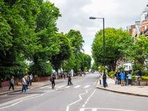 Abbey Road korsning i London, hdr Royaltyfri Foto
