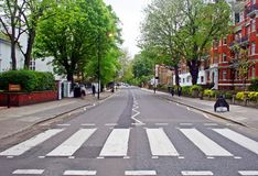 Abbey Road London Arkivbild