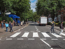 Abbey Road London UK Arkivfoton