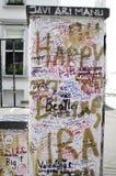 Abbey Road, Londres Foto de archivo libre de regalías