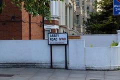 Abbey Road, Londres, Gran Bretaña Imagen de archivo