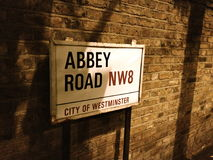 Abbey Road NW8 Photo libre de droits
