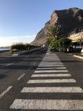 Abbey Road på ön Fotografering för Bildbyråer