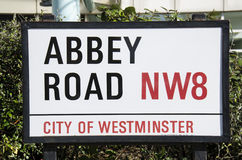 Abbey road Stock Photography
