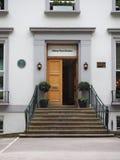Abbey Road studior i London Royaltyfria Foton