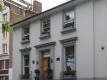 Abbey Road studior i London Arkivfoto