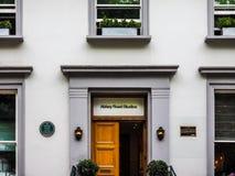 Abbey Road studior i London (hdr) Royaltyfri Bild