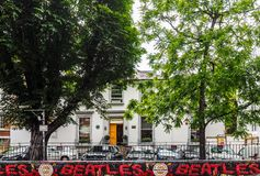 Abbey Road studior i London, hdr Royaltyfri Fotografi