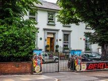 Abbey Road studior i London (hdr) Arkivfoton