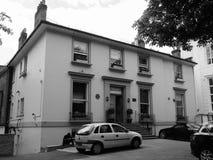 Abbey Road studior i svartvita London Royaltyfria Foton
