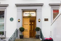 Abbey Road Studios entrance, London, UK Royalty Free Stock Photos