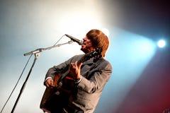 Abbey Road (tributo de la banda al Beatles) se realiza en el festival de oro del renacimiento Imagenes de archivo