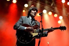 Abbey Road (tributo de la banda al Beatles) se realiza en el festival de oro del renacimiento Imágenes de archivo libres de regalías