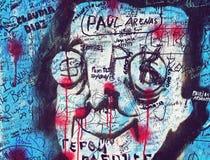 Abbey Road wall Stock Photo