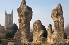 Abbey ruins Royalty Free Stock Photo