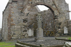 Abbey ruins, Ardfert, Ireland Stock Photo