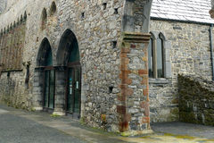 Abbey ruins, Ardfert, Ireland Royalty Free Stock Images