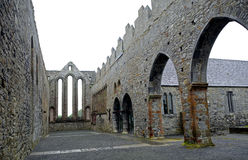 Abbey ruins, Ardfert, Ireland Stock Images
