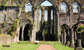 Abbey ruins Stock Images