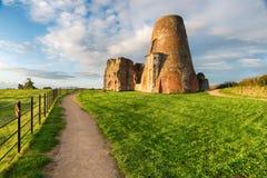 Abbey Ruins del St Benet en la Norfolk Broads Imagenes de archivo