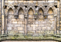 Abbey Ruins, detail Royalty Free Stock Images