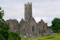 Abbey ruins, Quin, Ireland Royalty Free Stock Image